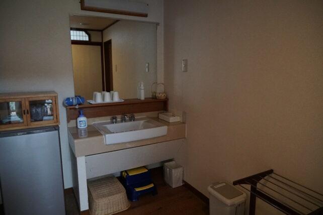 鬼怒川温泉ホテル洗面所